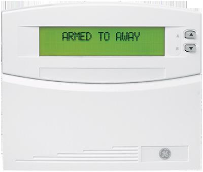 Alarm System Control Panel